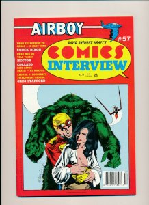 Airboy COMICS INTERVIEW #57 1988  VF (PF944)