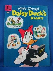 Four Color 858 DAISY DUCK'S DIARY  Fine 1957