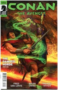 CONAN the AVENGER #12, VF+, Brian Ching, Van Lente, 2014, more Conan in store