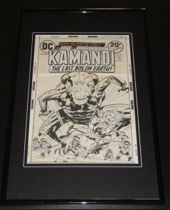 Kamandi #12 Cover Framed 11x17 Photo Display Official Repro Jack Kirby
