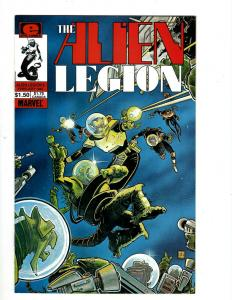 Lot of 13 Alien Legion Marvel Comics #6 13 14 15 16 17 18 19 20, 1 2 3 4 JF4