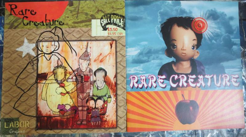 Rare Creature by Kelley Seda Published by Slave Labor Graphics #2, 3
