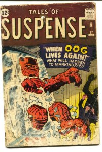 TALES OF SUSPENSE #27-1962-MARVEL-HORROR-KIRBY-DITKO-good