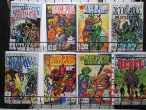 Heroes Reborn: the Return #1-4 + 4 Specials (Marvel 1997) FF Avengers Revived!