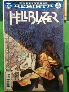 The Hellblazer #5 DC Universe Rebirth variant cover