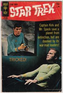 Star Trek #5 (Sep-69) VG Affordable-Grade Captain Kirk, Mr Spock, Bones, Scot...