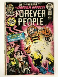 FOREVER PEOPLE 6 GOOD Jan. 1972 COMICS BOOK