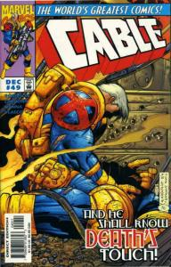 Cable #49 VF; Marvel | save on shipping - details inside