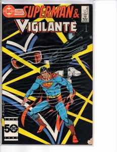 DC Comics Presents #92 Superman and Vigilante  VF