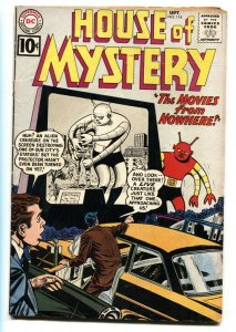 HOUSE OF MYSTERY #114 1961-Drive-In Movie theater cover-DC