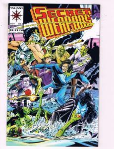 Secret Weapons #2 VF Valiant Comics Comic Book October DE18