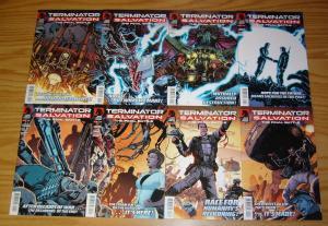 Terminator Salvation: the Final Battle #1-12 VF/NM complete series - straczynski