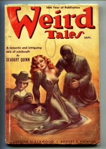 Weird Tales Sept 1938- Margaret Brundage-H.P. Lovecraft-Pulp Magazine