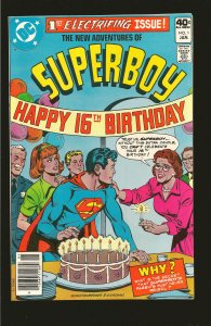 DC Comics The New Adventures of Super-Boy 16th Birthday Vol 1 No 1 January 1980