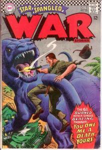 STAR SPANGLED WAR 133 VG-F   July 1967 COMICS BOOK