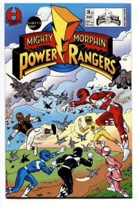 Saban's Mighty Morphin Power Rangers #3-1994-comic book