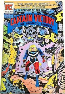 CAPTAIN VICTORY#13 VF/NM 1984 PACIFIC COMICS SCARCE LAST ISSUE
