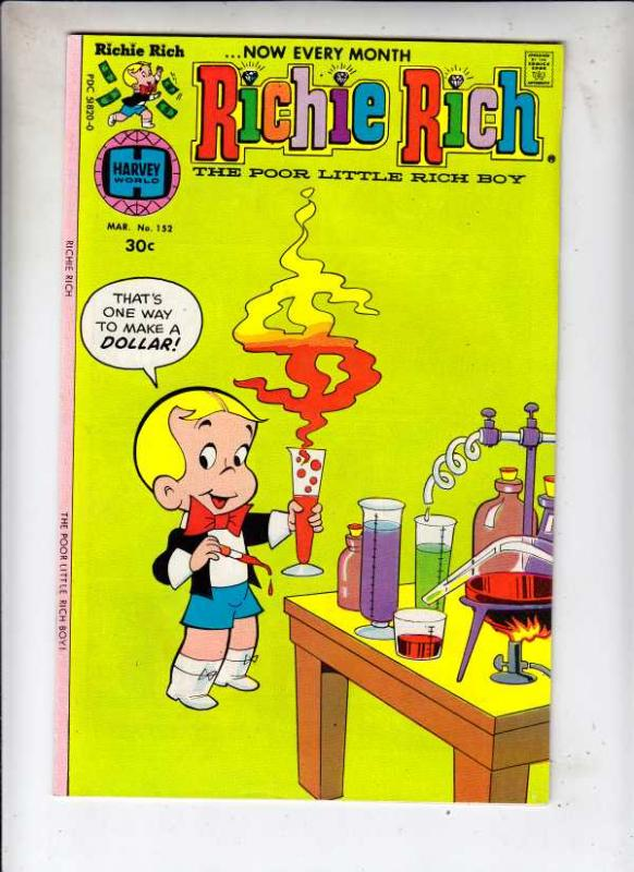 Richie Rich #152 (Mar-77) NM- High-Grade Richie Rich