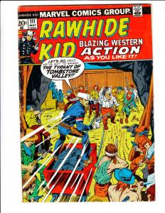 Rawhide Kid #111 (May-73) FN Mid-Grade Rawhide Kid