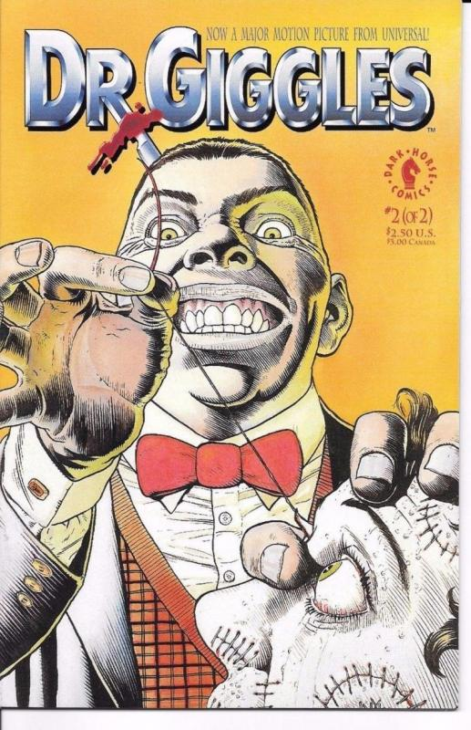 DR. GIGGLES #2, NM, Horror, Dark Horse, 1992