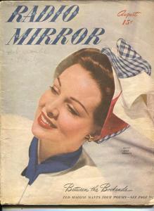 Radio Mirror-Betty Jane Rhodes-Kate Smith=Ted Malone-Ken Alden-Aug-1946