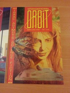Orbit Graphic Science Fiction 1-3 Complete Set Run! ~ NEAR MINT NM ~ 1990