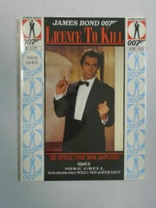 James Bond 007 Licence To Kill Graphic Novel NM (1989 Eclipse)