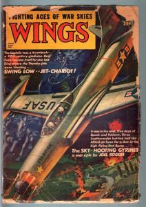 WINGS SPR 1953-JET VS. COMMIES-AVIATION PULP G