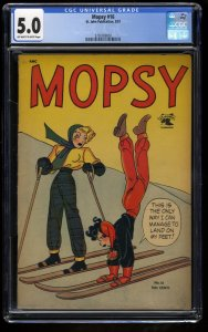 Mopsy #16 CGC VG/FN 5.0 Off White to White