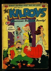 Kilroys #24 1950- Golden Age Humor- Moronica appearance- VG-