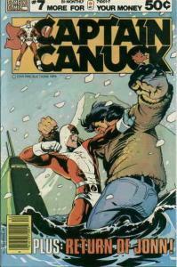 Captain Canuck #7 FN; CKR | save on shipping - details inside