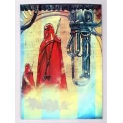 1996 Topps Finest Star Wars EMPEROR'S ROYAL GUARD #28 Chromium
