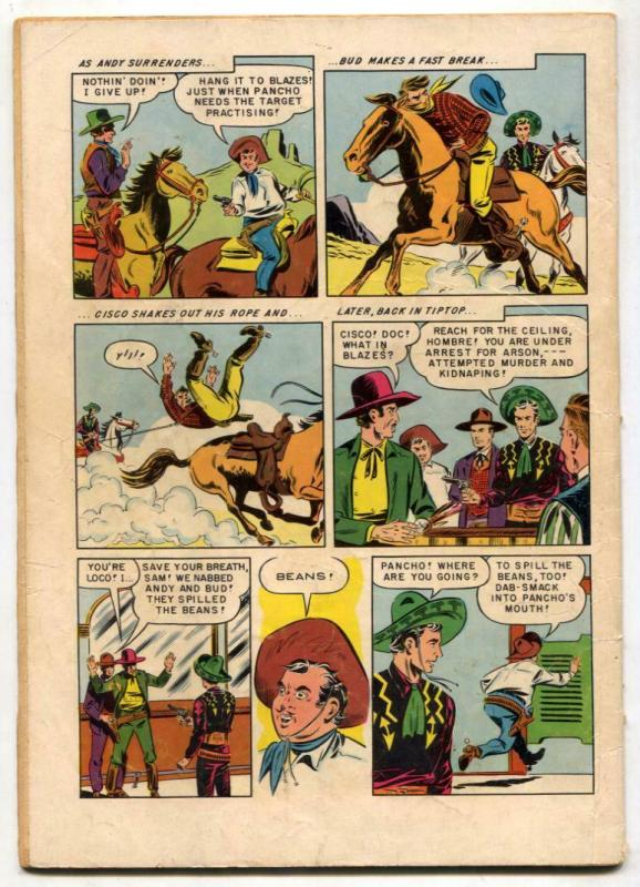 Cisco Kid #11 1952-Dell Western G/VG