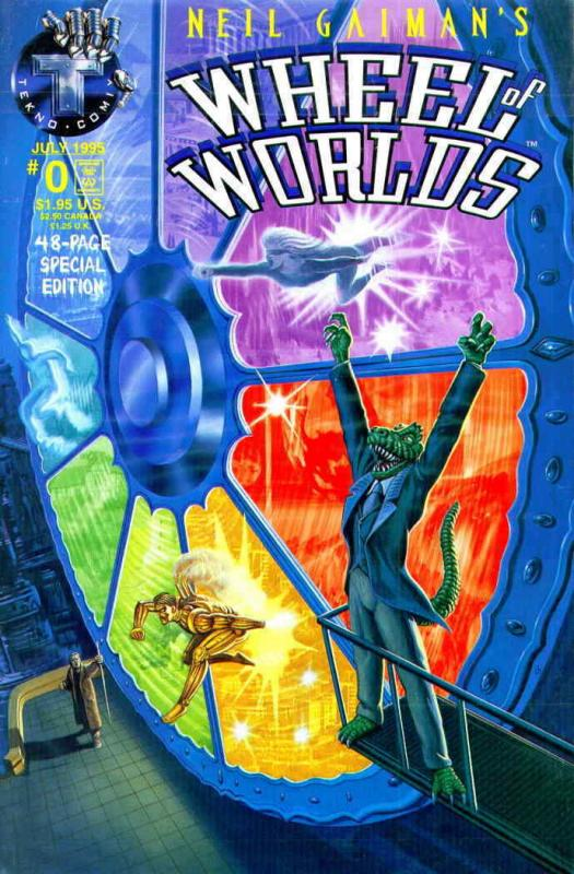 Wheel of Worlds (Neil Gaiman's…) #0 VF/NM; Tekno | save on shipping - details in