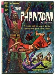 THE PHANTOM #10 1965-GOLD KEY COMICS-LEE FALK-JUNGLE G