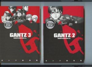 GANTZ issues 2, 3 - (Dark Horse Manga) First editions - Hiroya Oku Works