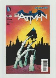 Batman #26 NM (2014, DC Comics) NEW 52, ZERO Year!! Capullo Art & Cvr!