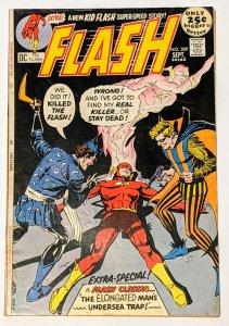 The Flash #209 (Sept 1971, DC) VG/FN 5.0 Trickster appearance Kid Flash backup