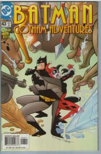 Batman Gotham Adventures 43 Dec 2001 NM- (9.2)