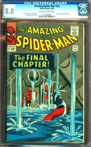 Amazing Spider-Man #33 GCG Graded 8.0