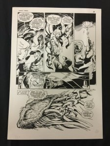 Captain Cosmos Page 38 Original Art Joe Stanton Nicola Cuti Space Opera