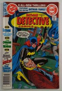Detective Comics #484 Origin Robin DC 1979