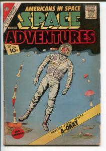 SPACE ADVENTURES #43-1961-CHARLTON-1ST AMERICAN IN SPACE-ALAN SHEPARD-good