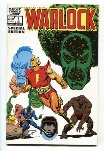 Warlock Special Edition #1 1982 comic book Marvel-First issue