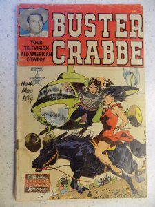 BUSTER CRABBE # 4 FAMOUS FUNNIES GOLDEN AGE WESTERN