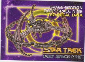 1993 Star Trek Deep Space 9 #90 Deep Space Nine Technical Data