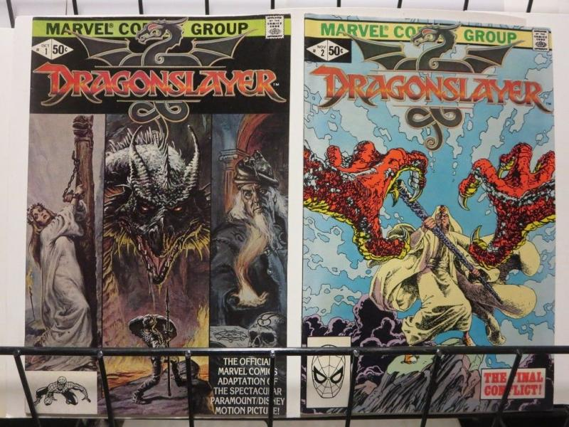 DRAGONSLAYER (1981) 1-2  Complete Disney Movie Adap