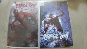 WEB OF VENOM CARNAGE BORN 1 CRAIN & PARRILLO EXCLUSIVE VARIANT LOW PRINT RUN NM