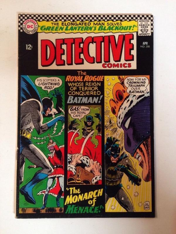 Batman In Detective Comics 350 6.0 FN-
