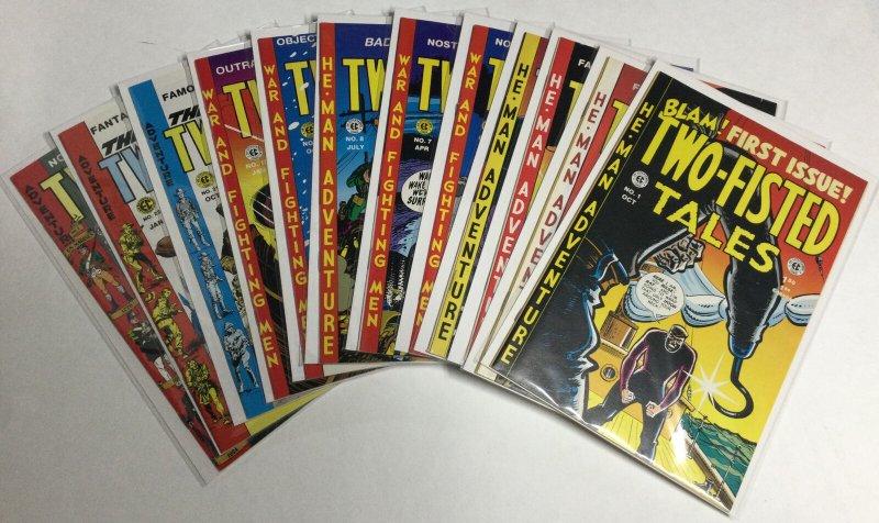 EC Comics Two-Fisted Tales 1 3 4 5 6 7 8 9 10 21 22 Nm Near Mint Reprints